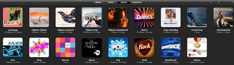 Genre Views in iTunes 8