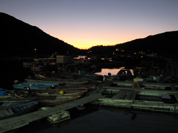 Sun Setting at Lamma Island