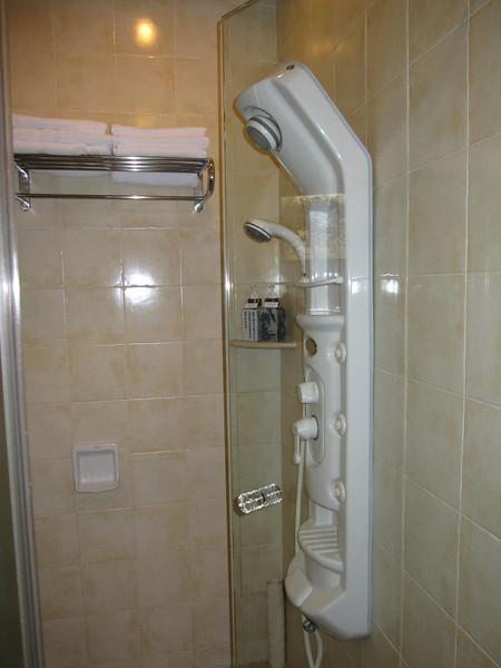 The unique shower point