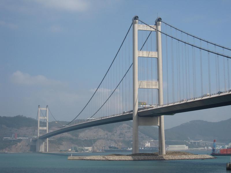 Tsing Ma Bridge in Day Time