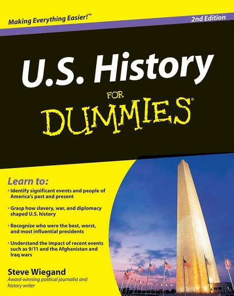 U.S. History For Dummies by Steve Wiegand