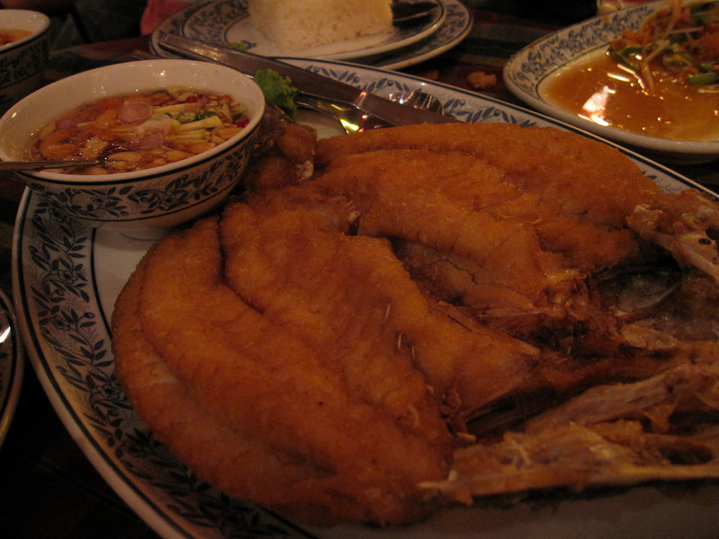 Excellent Deep Fried Fish at Cabbages and Condoms