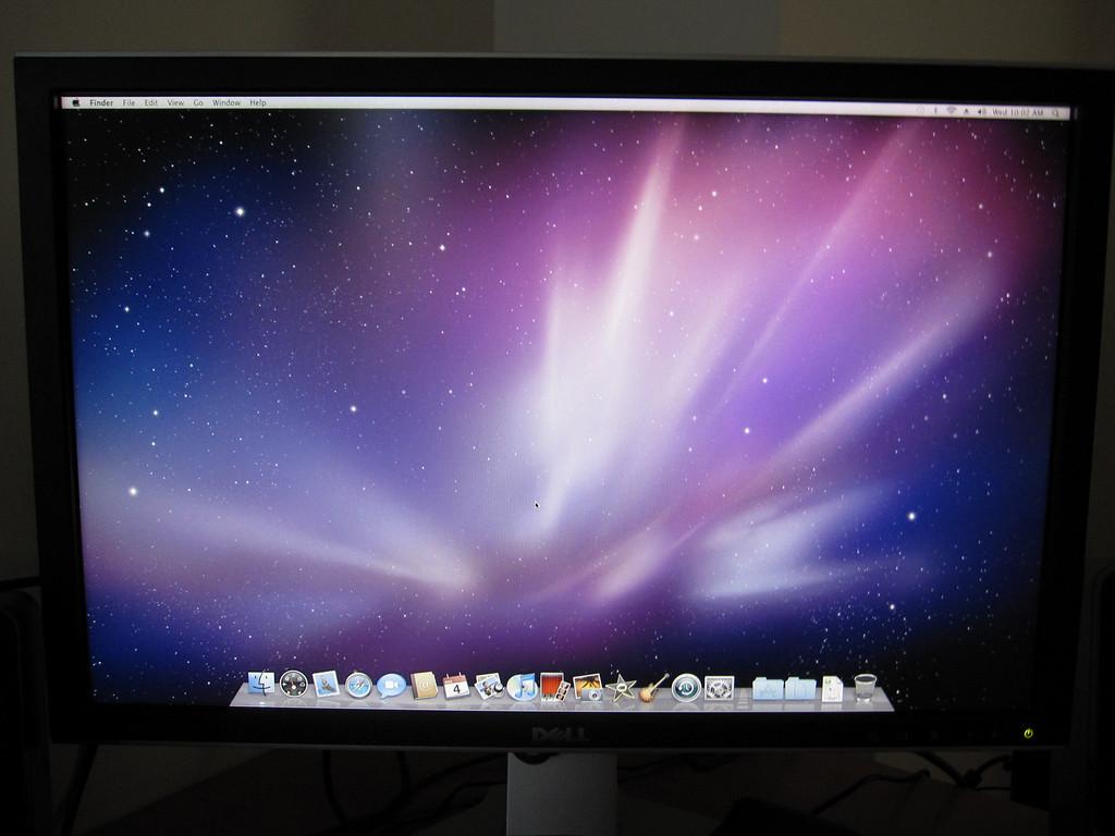 Mac Mini with Dell 2408WFP