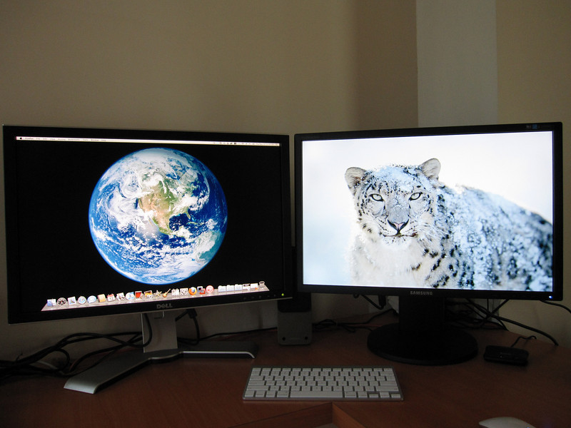Dual Display with Mac Mini 2009