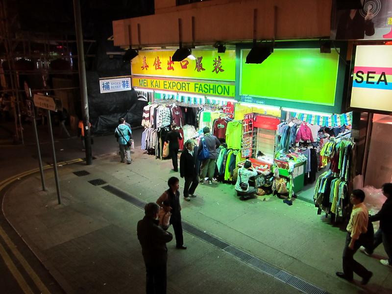 Night Shots from Hong Kong Tram Ride by Canon Powershot S90