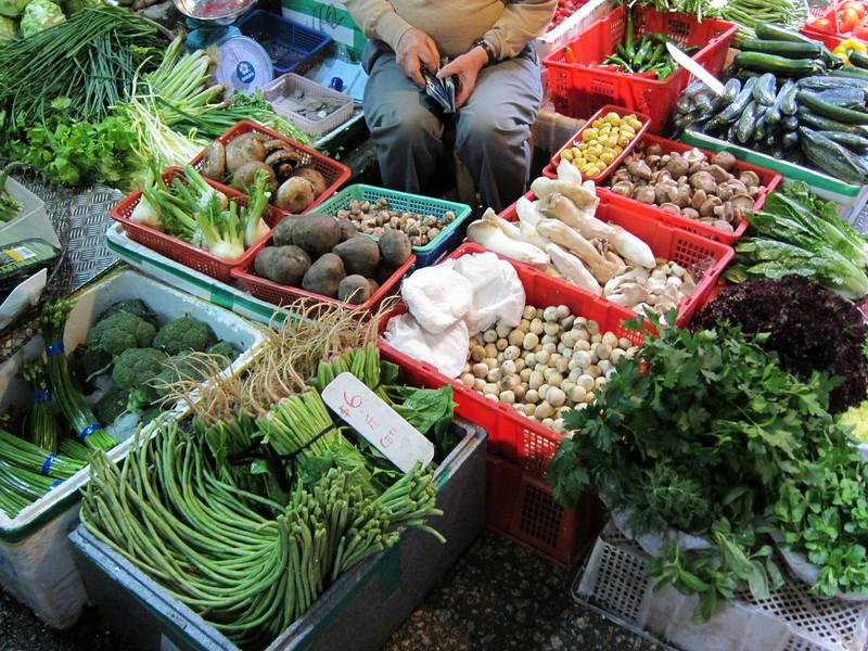 Graham Street Market Hong Kong