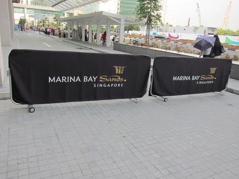 Marina Bay Sands Hotel and Casino