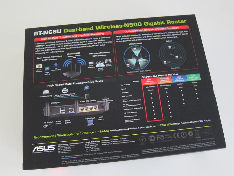 ASUS RT-N66U Dual-Band Wireless-N900 Gigabit Router