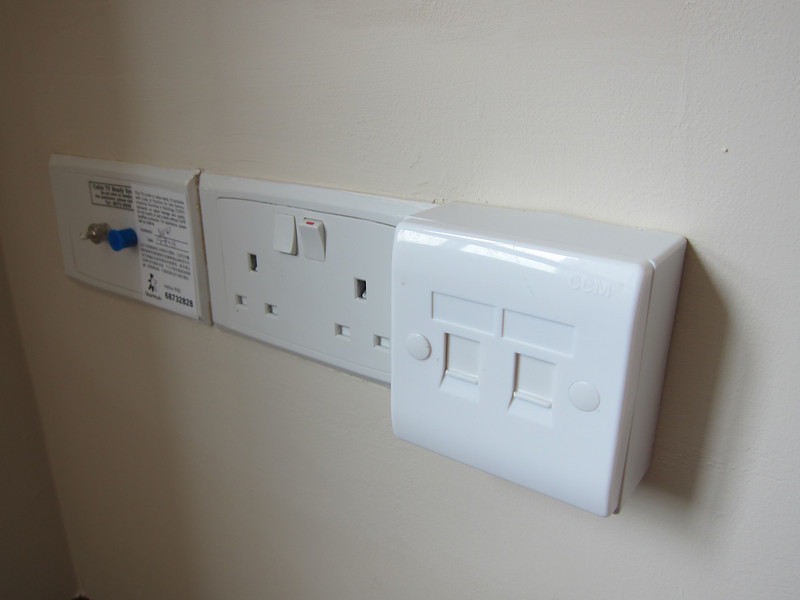 Monoprice Small Patch Panel in Living Room