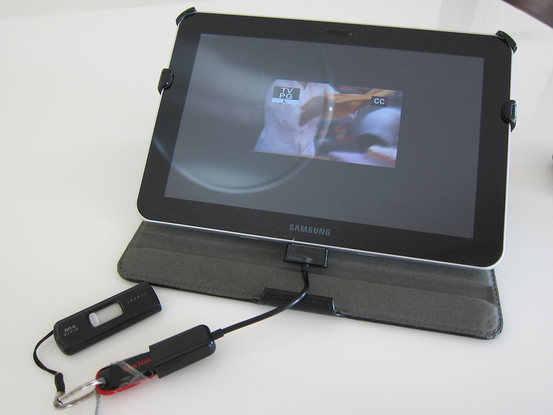 Galaxy Tab 30pin to Female USB Adapter Dongle