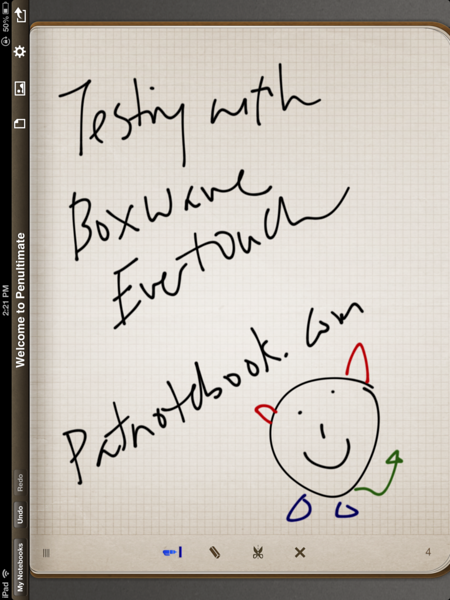 BoxWave EverTouch Capacitive Stylus with Penultimate App