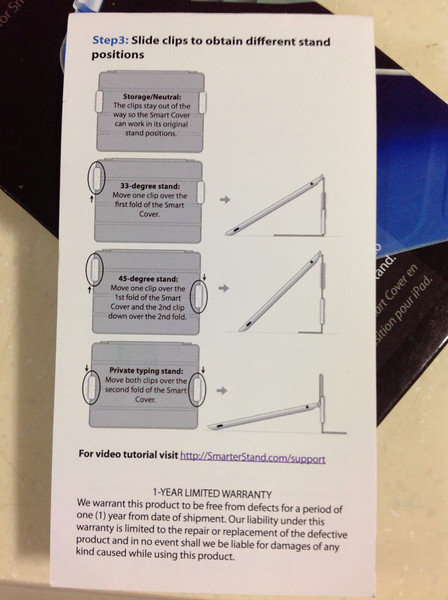 iPad Smarter Stand iPad Stand