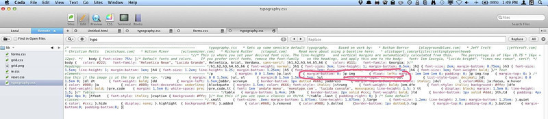 Wordpress : Removing Text Next to Images