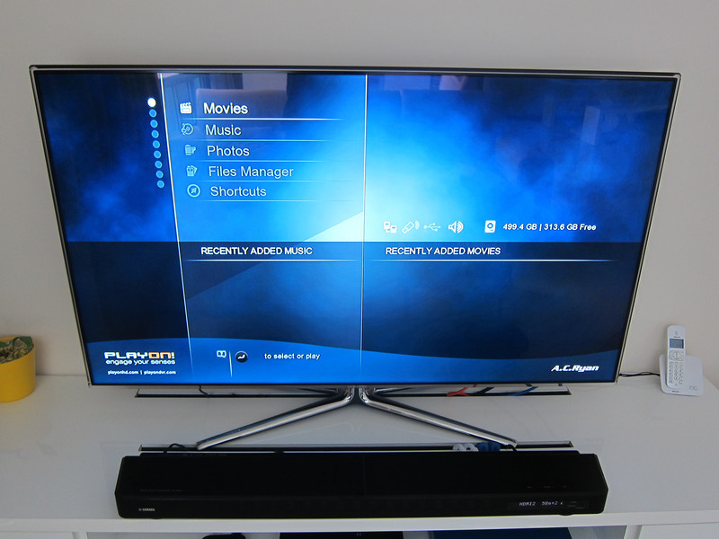 Samsung UA55D7000LN LED TV