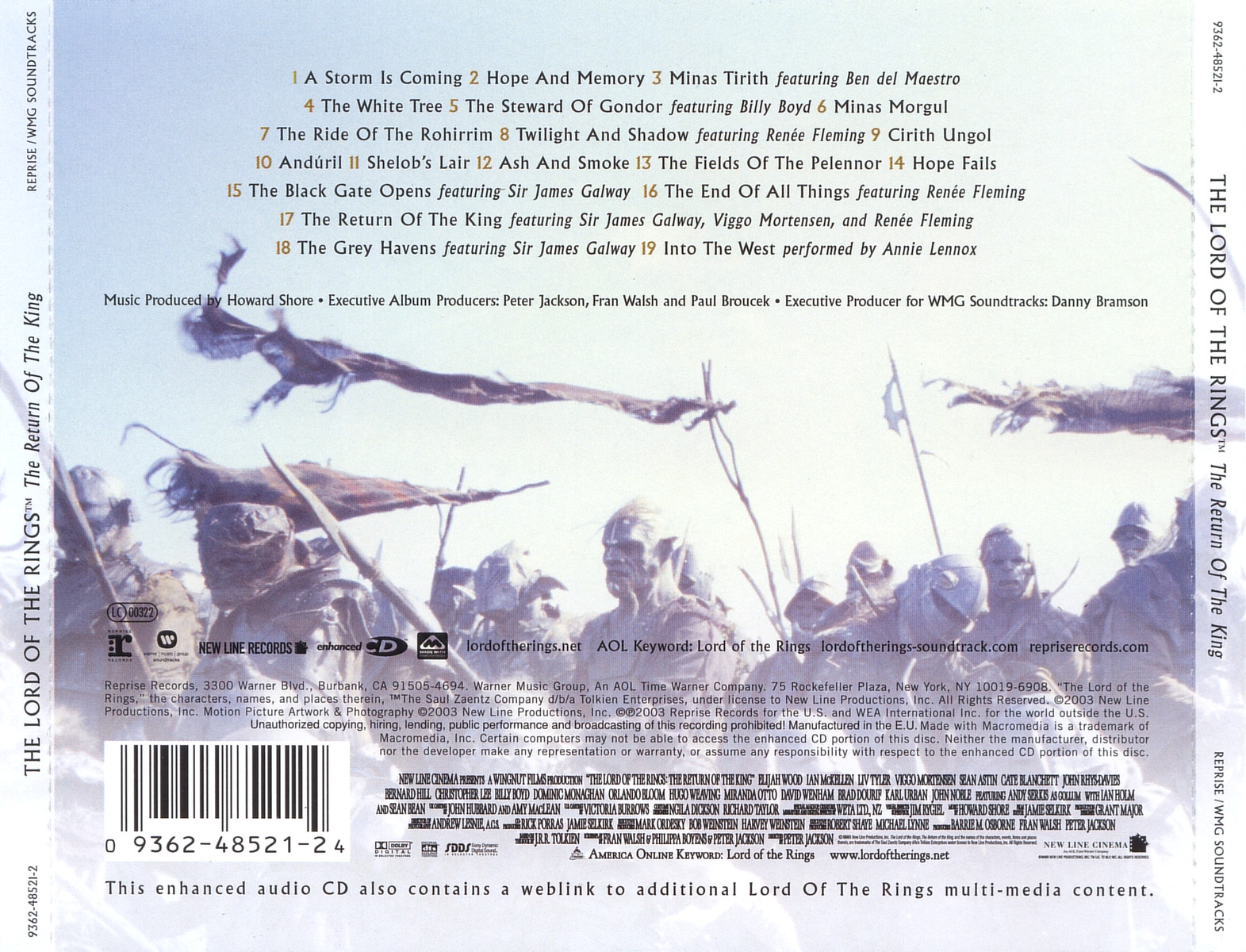 (2003) Howard Shore The Lord of the Rings The Return of the King