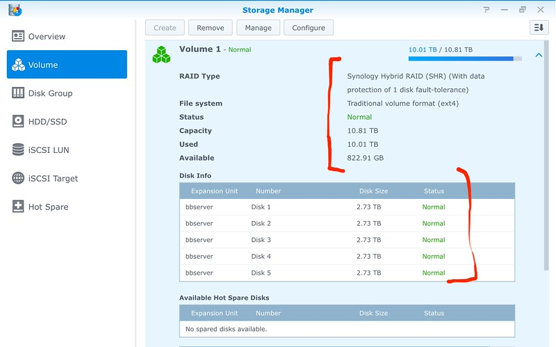 Synology File System Error