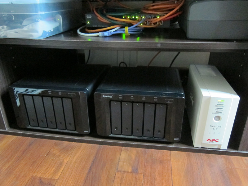 APC BackUPS CS500 UPS with Synology DS1511+
