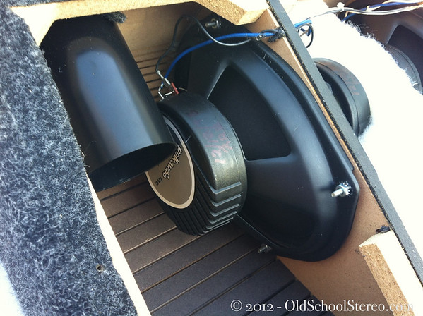 Old School Polk Audio C4 Subwoofer - Four 6x9's in Isobaric Teardrop