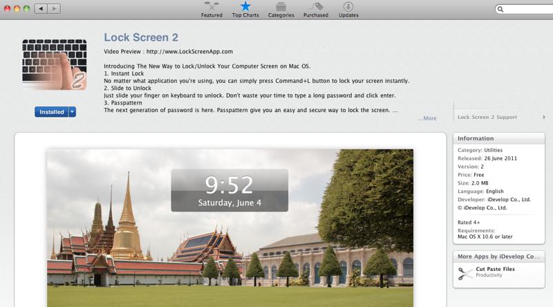 Lock Screen 2