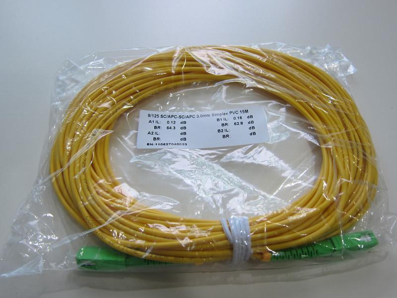 Fibre Optic Patch Cords between TP and ONT for Fibre Optics Singapore