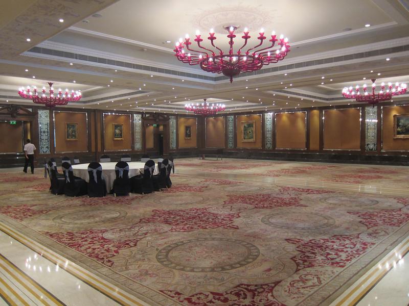 Taj Krishna Hyderabad Hotel Grounds