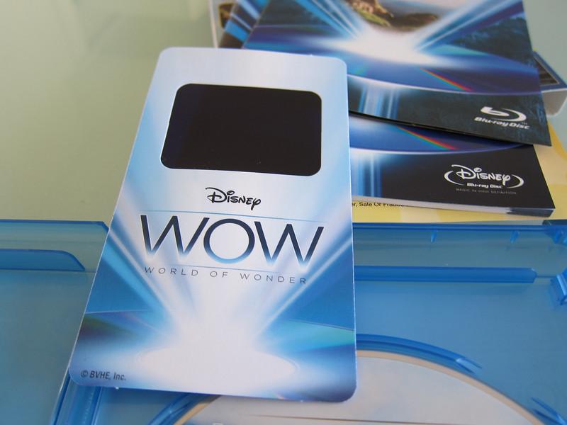 Disney WOW : World of Wonder BluRay Calibration Disc