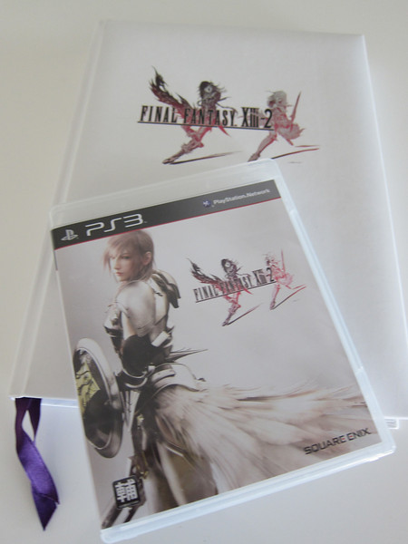 Final Fantasy XIII-2 Playstation 3 Game