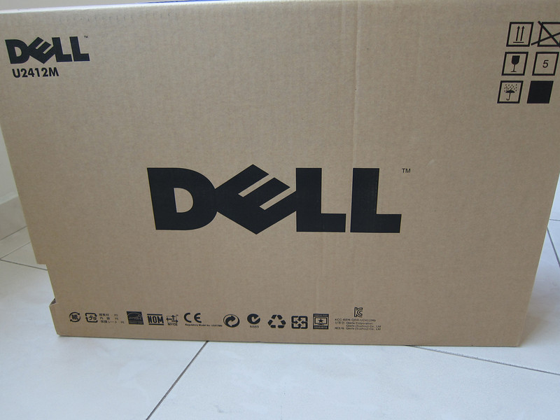 Dell 2412M : Unboxing