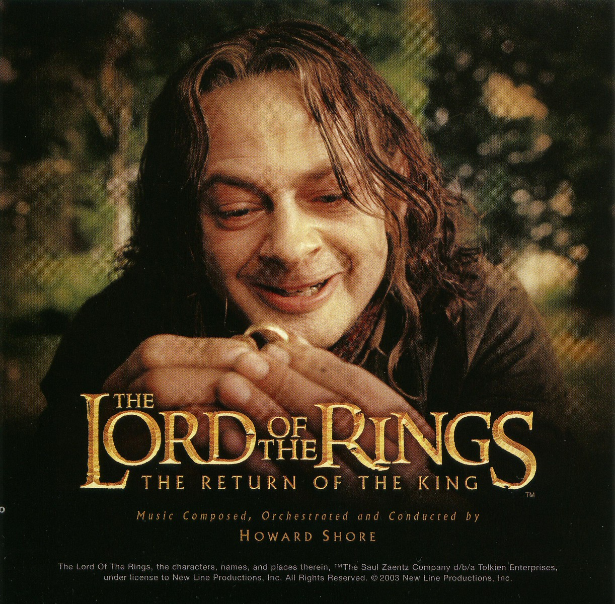 The Lord of the Rings Motion Picture Trilogy Soundtrack Picture