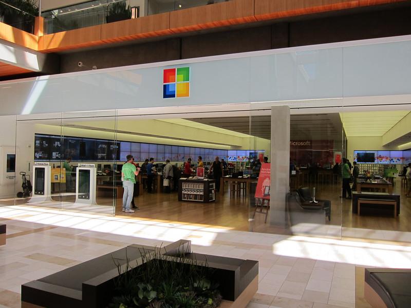 Microsoft Retail Store in Bellevue