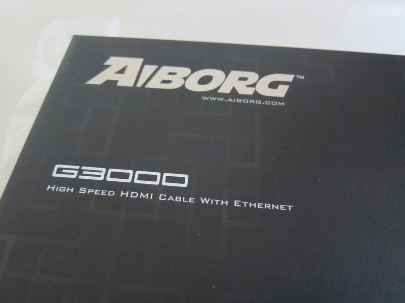 Aiborg G3000 HDMI Cable